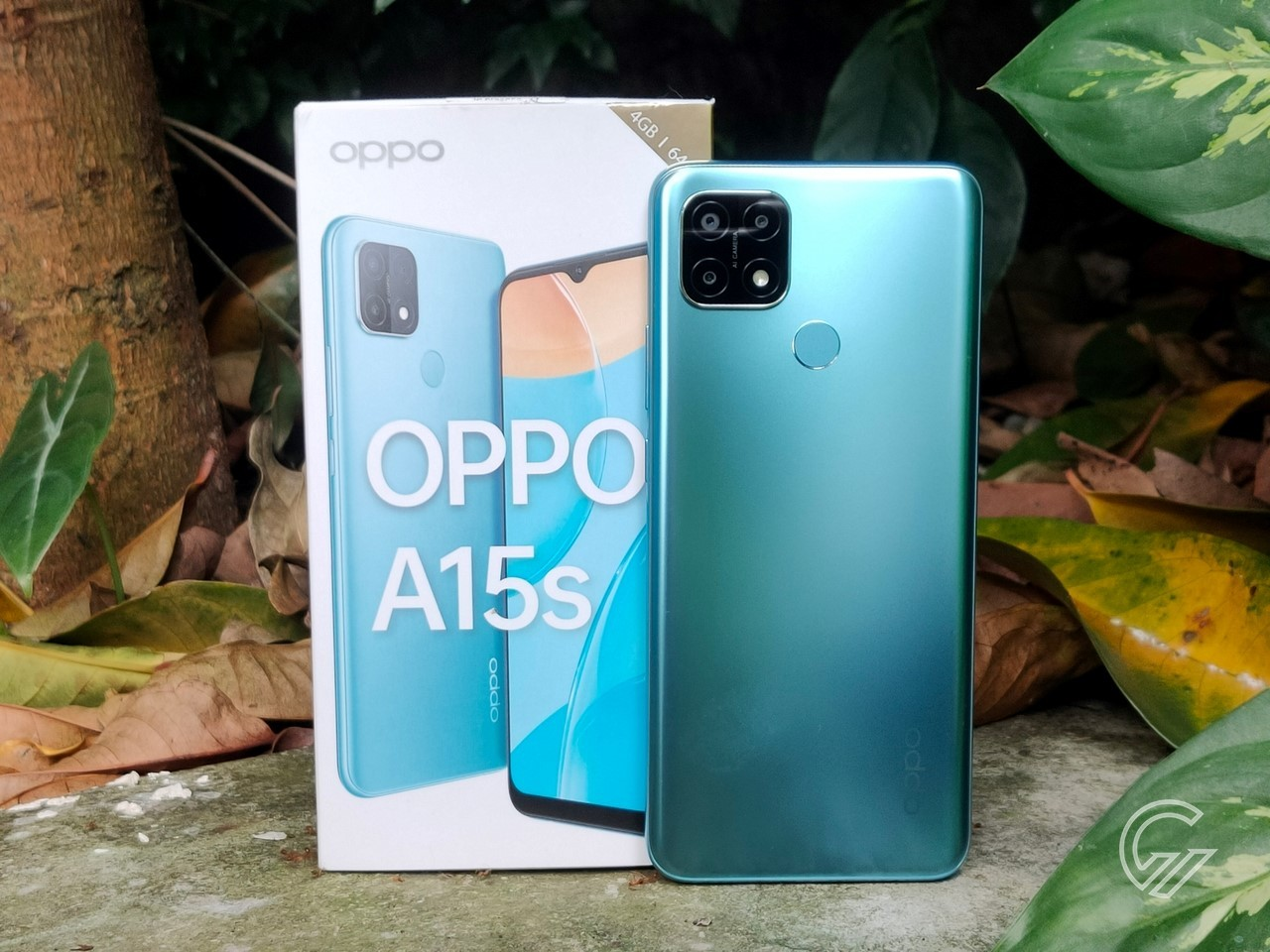 Review OPPO A15s Header
