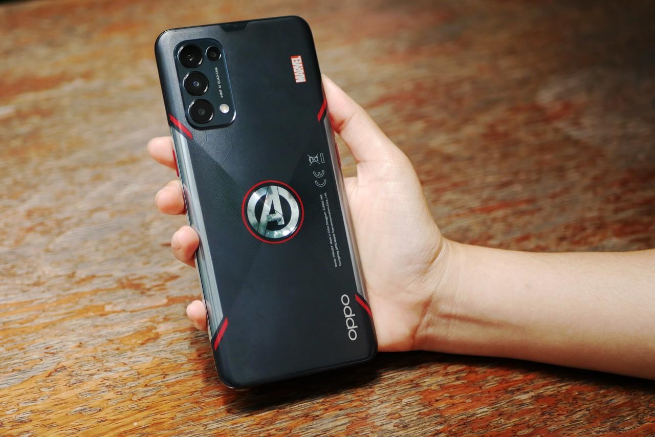 OPPO Reno5 Marvel Avengers Edition Featurez