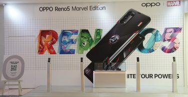 OPPO Reno5 Marvel Edition Gerai