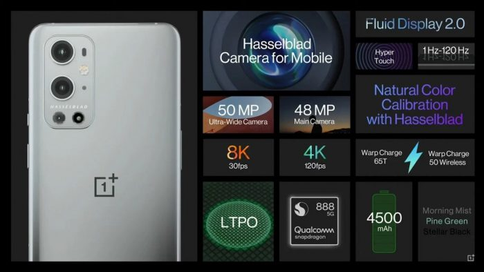 OnePlus 9 Pro Spesifikasi