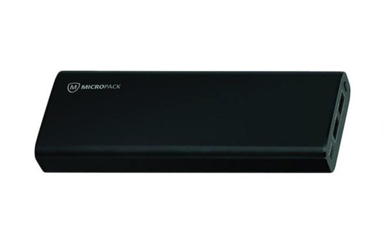 Micropack Power Bank 20000 mAh Black Power Delivery