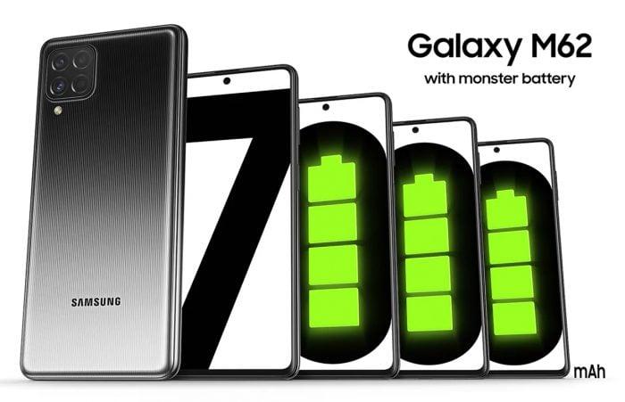 Samsung Galaxy M62 Big Battery