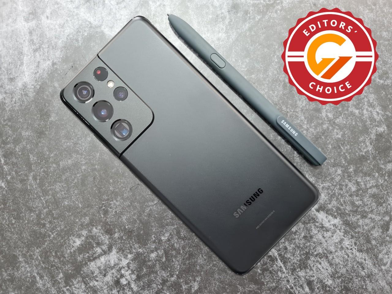 Samsung Galaxy S21 Ultra - Gadgetren Editors Choice