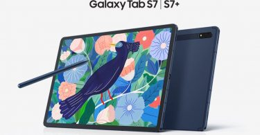 Samsung Galaxy Tab S7 Mystic Navy Header
