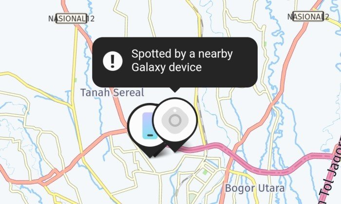 Samsung SmartThings Galaxy Find Network