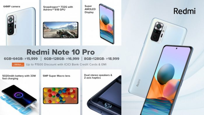 Xiaomi Redmi Note 10 Pro Spec