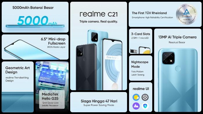 realme-C21-Spesifikasi