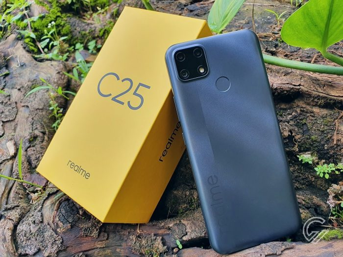 Daftar Handphone realme Rilis Terbaru - realme C25