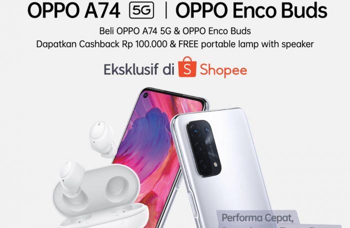Bundling OPPO A74 5G Feature.