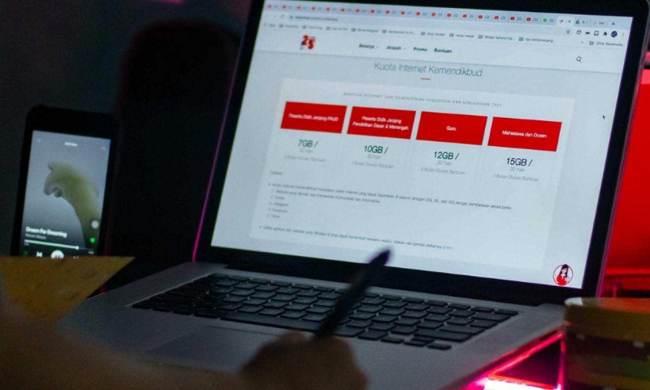 Cara Cek Kuota Kemendikbud Telkomsel Header
