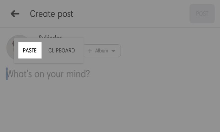 Cara Copy Paste Status dan Komentar di Facebook 4