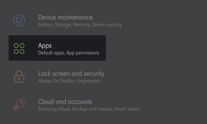 Cara Mengatasi Aplikasi Berhenti di Samsung - 1