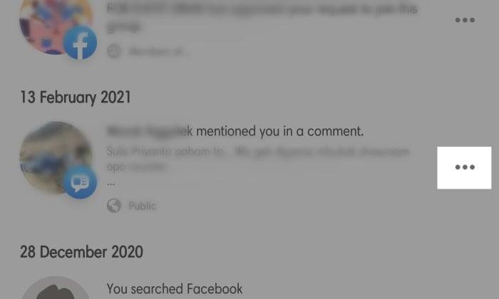 Cara Menghapus Menghilangkan Tag di Facebook 6