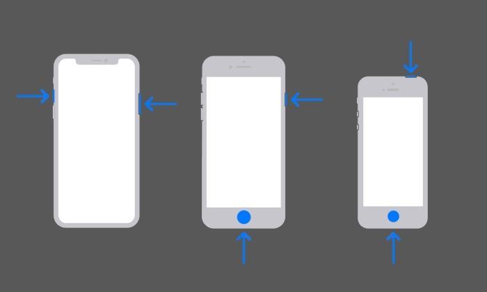 Cara Screenshot Panjang di iPhone - Kombinasi Tombol