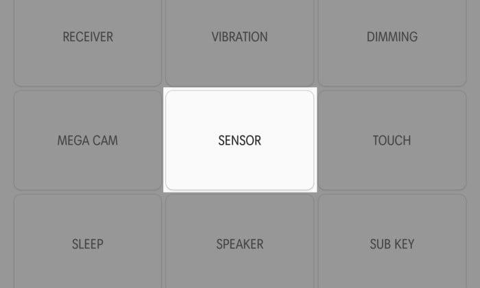Cek Sensor Samsung 1