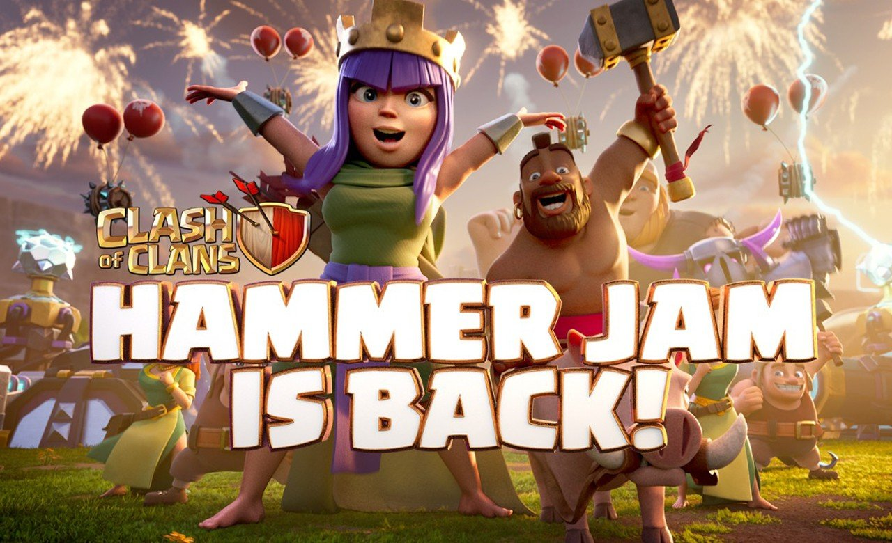 Clash of Clans Hammer Jam