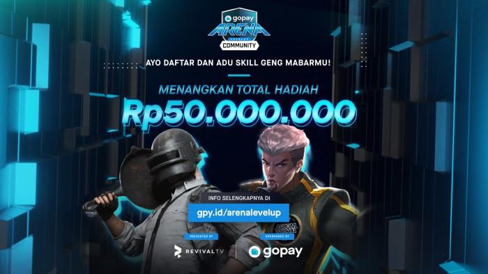 GoPay-Arena-Level-Up-Community-Hadiah-50-juta