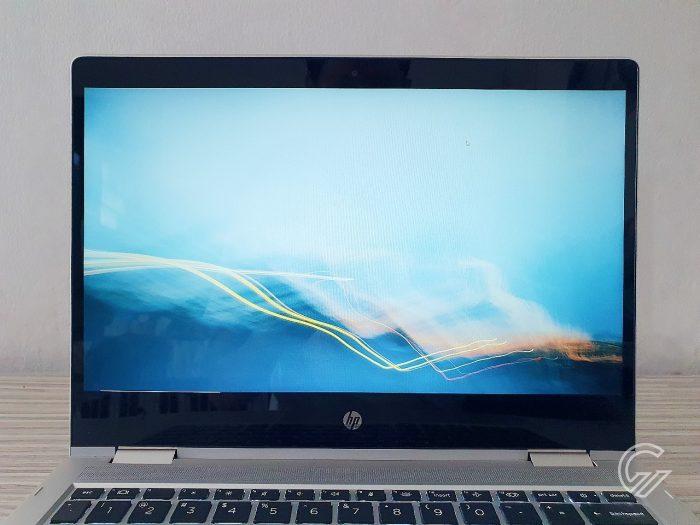 HP ProBook x360 435 G7 Layar