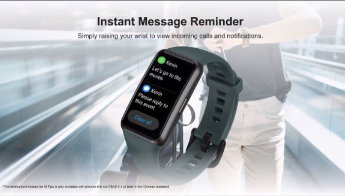 HUAWEI-Band-6-Instant-Message-Reminder