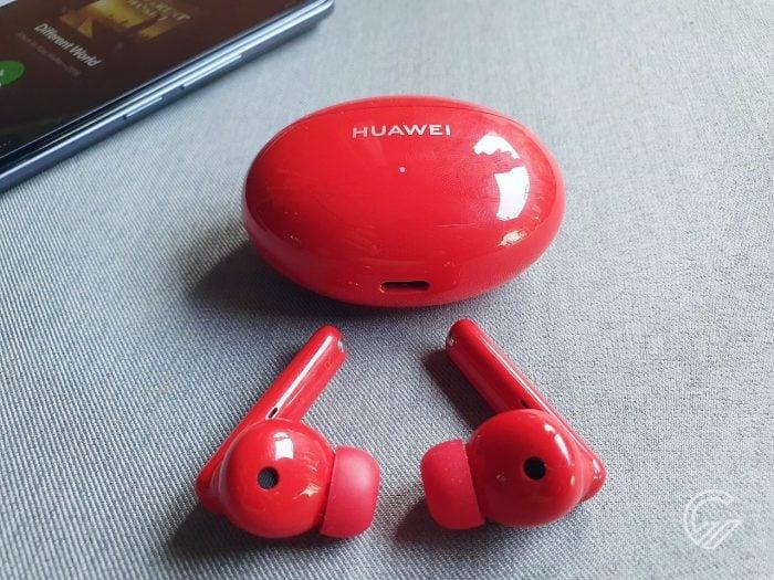 HUAWEI FreeBuds 4i Buds dan Case