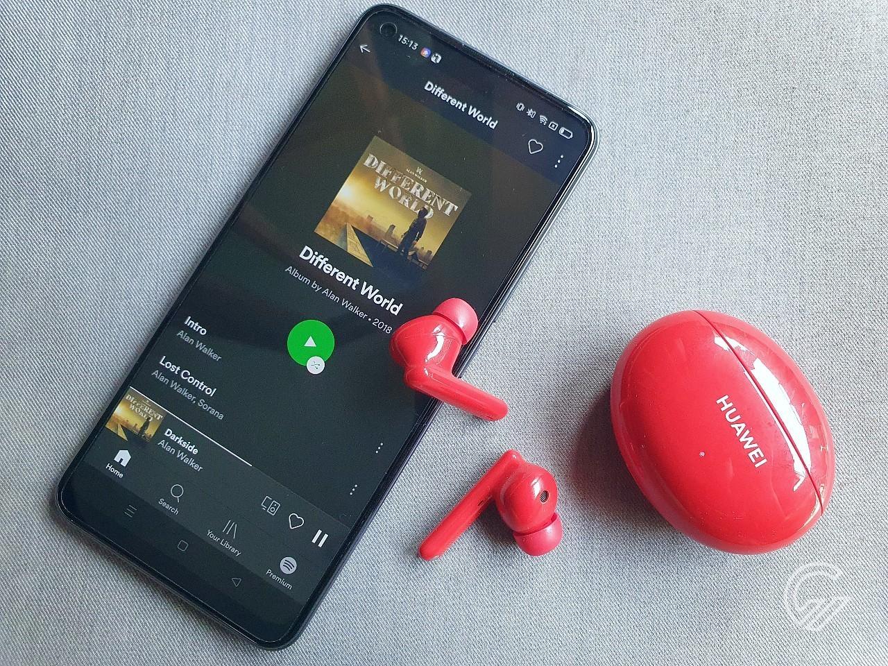 HUAWEI FreeBuds 4i Spotify