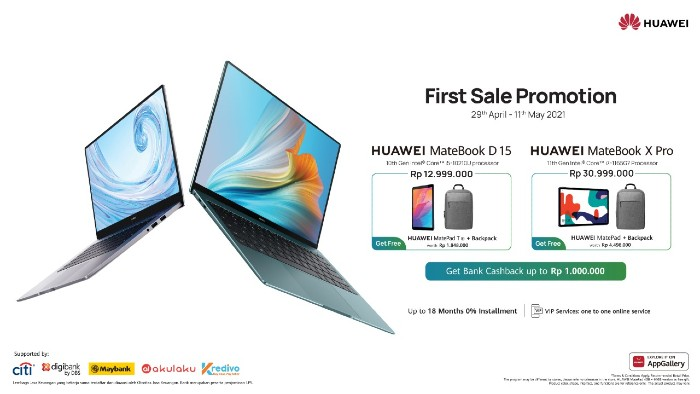 HUAWEI-MateBook-D15-dan-MateBook-X-Pro-Bundling