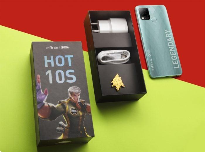 Infinix Hot 10S Box