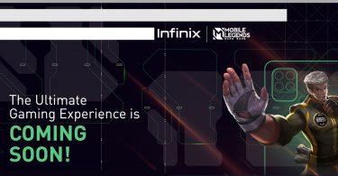 Infinix x Mobile Legends Handphone Teaser