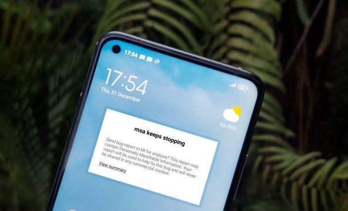 MSA Stopping Xiaomi Half