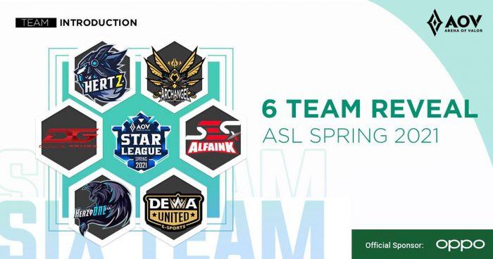 OPPO ASL 2021 Spring Team