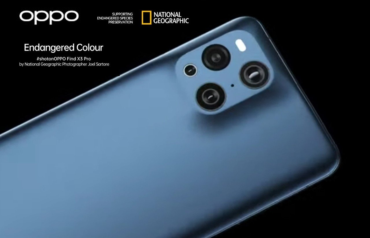 OPPO Find X3 National Geographic