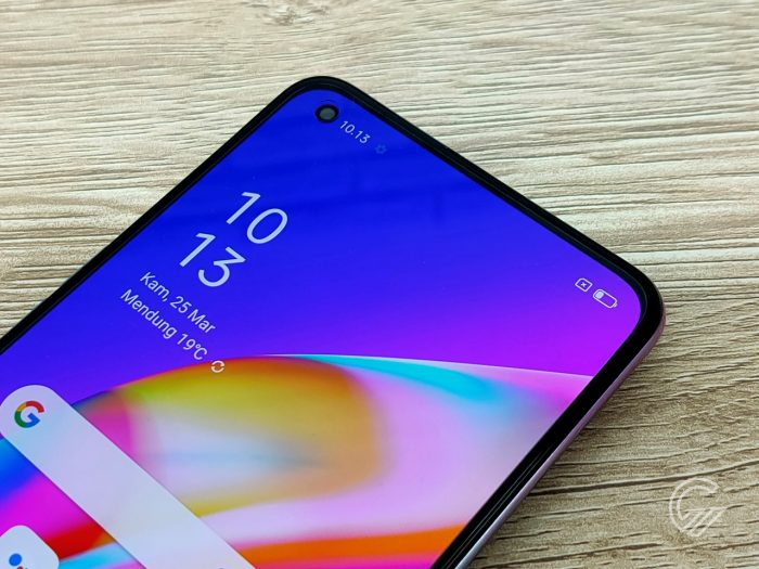 OPPO Reno5 F Display Top