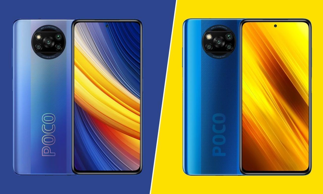 POCO X3 Pro Vs POCO X3 NFC Header