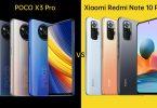 POCO X3 Pro vs Xiaomi Redmi Note 10 Pro