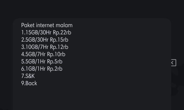 Paket Sahur Telkomsel - 5