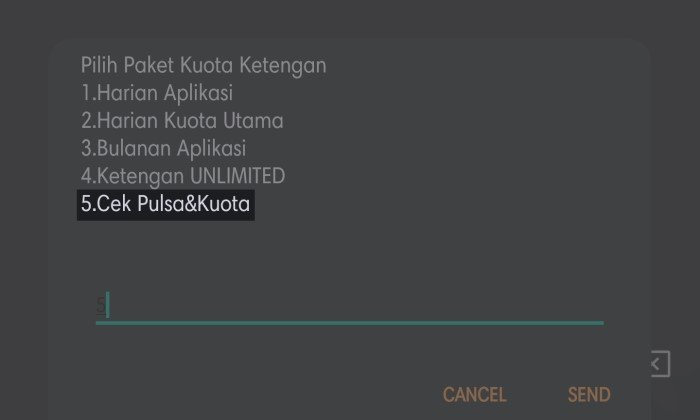 Paket Sahur Telkomsel - 6