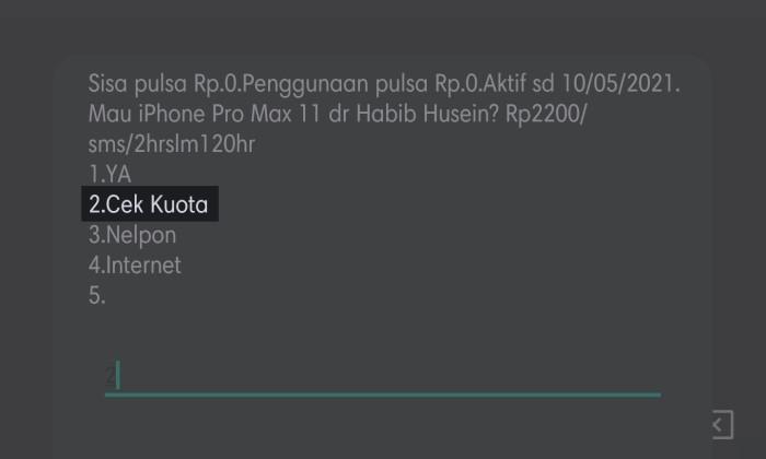 Paket Sahur Telkomsel - 7