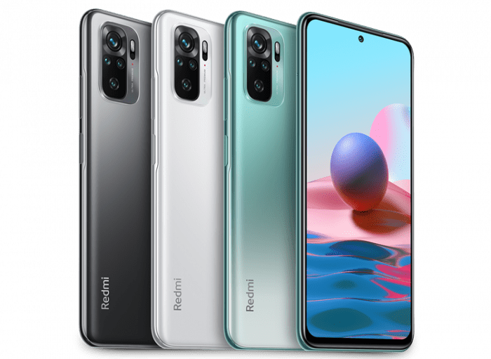 Redmi Note 10 Varian Warna
