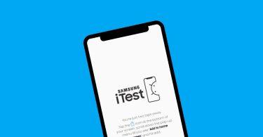 Samsung iTest Header