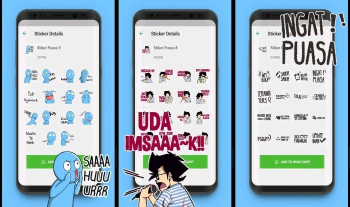 Stiker Sahur Lucu Ramadan WhatsApp 5