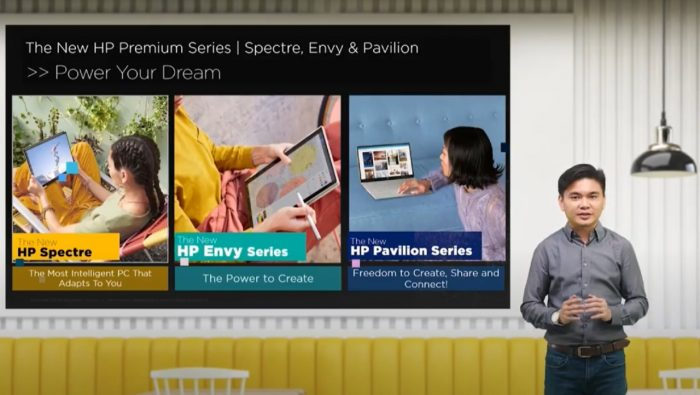 The New HP Premium Series Feature