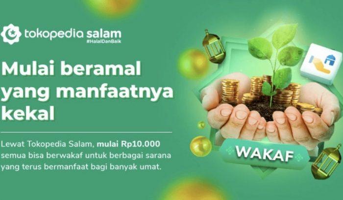 Tokopedia-Fitur-Wakaf-Uang