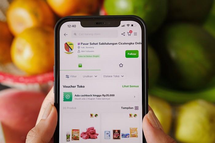 Tokopedia-Pasar-Sehat-Sabilulungan-Cicalengka-Online