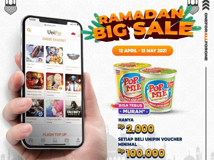 UniPin Ramadan Big Sale Tebus Murah