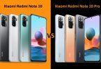 Xiaomi Redmi Note 10 vs Note 10 Pro