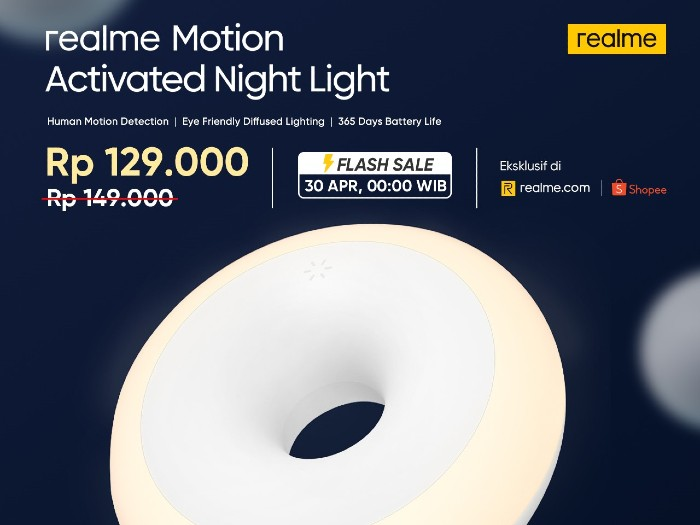 realme-Motion-Activated-Night-Light-Flash-Sale