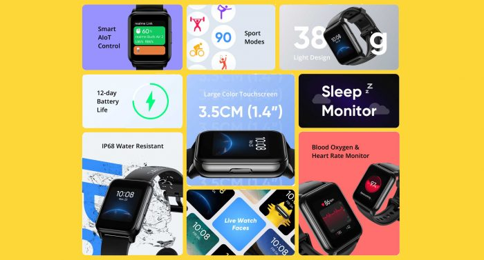 realme Watch 2 All