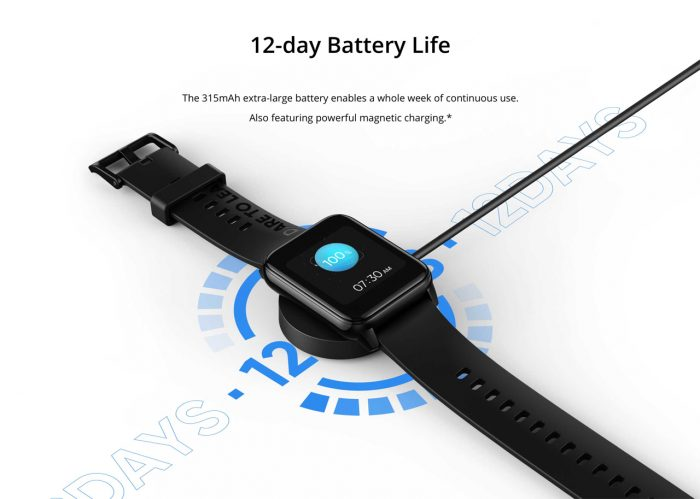 realme watch 2 Battery