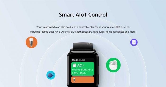 realme watch 2 IoT Control