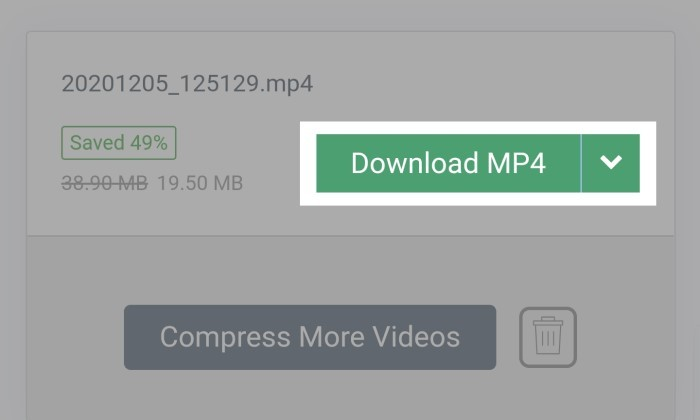 Cara Kompres Video - 6